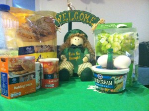 Ingredients for Irish Soda Muffins with Brighid's Kitchen Silicone Baking Cups
