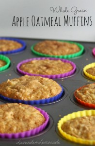 oatmeal apple muffins MAIN
