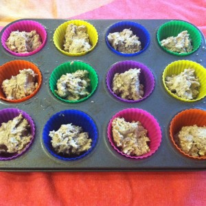 pre baking french toast cupcake liners
