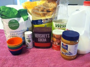 Brighid's Kitchen Muffin Liners - Chocolate Peanut Butter Mug Cake Ingredients