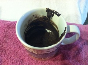 Brighid's Kitchen Muffin Liners - Chocolate Peanut Butter Mug Cake
