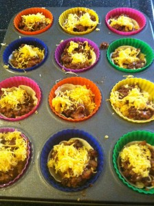 tacos10 baking cups